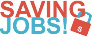 LOGO SAVING JOBS SMALL